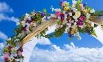 Свадебная арка в Доминикане