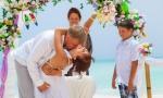 Свадьба в Доминикане, Кап Кана. {Женя, Ирина и сынок Аким}