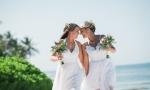 Свадьба двух девушек в Доминикане {Карла и Энжела}