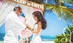 Свадьба в Доминикане в стиле «Романтичный рустик» {Кристина и Александр}