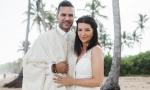 Свадьба на пляже Макао {Ракель и Махуб}