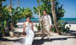 Свадьба с подсолнухами в Доминиканской Республике {Бейя и Рожер}