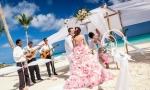 Официальная церемония в Доминиканской Республике, Кап Кана {Татьяна и Василий}