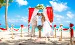 VIP Свадьба в МОРСКОМ СТИЛЕ на пляже Кап Каны, Доминиканская Республика {Кирилл и Мария}