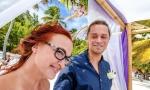 Официальная свадьба в Доминикане, Кап Кана. {Анна и Мартин}