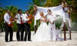 Свадьба в Доминикане, Кап Кана. {Женя и Алина}