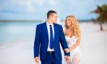 Свадьба в Доминикане  с гостями в пляжном ресторане {Дмитрий и Елена}