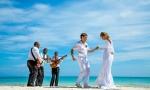Официальная свадебная церемония в Кап Кане, Доминикана. {Юра и Маша}