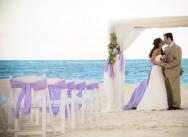 Свадебная арка для символической церемонии в Доминиканской республике