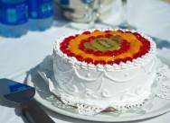 Cвадебные торты, как правильно разрезать свадебный торт