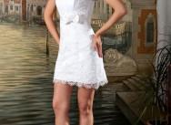 Свадебное платье в стиле мини