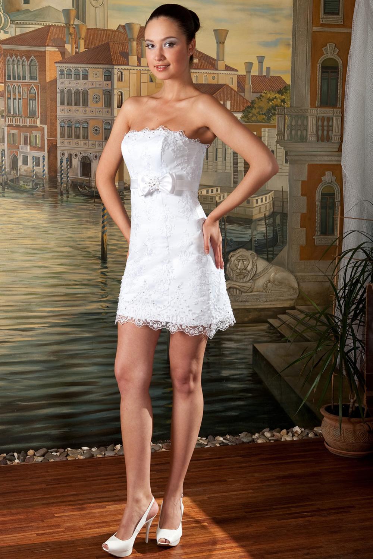 Свадебное платье в стиле мини - Caribbean Wedding