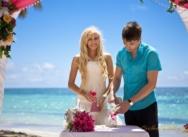 Катя и Миша — отчёт свадьбы в Кап Кане