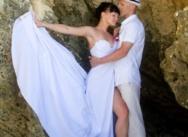 Инна и Александр, пляж Макао