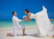 Эля и Стас — отчёт свадьбы в Кап Кане