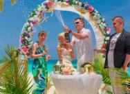 Официальная свадьба в Доминикане, Кап Кана. {Жанна и Дмитрий}