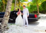 Ирина и Григорий, свадьба в Кап Кане, Доминикана