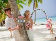 Пополнение портфолио — свадьба в Доминикане. {Наташа и Дима}