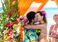 Свадьба в гавайском стиле {Андрей+Мария}
