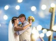 Свадьба в пляжном ресторане Huracan {Евгений и Аля}