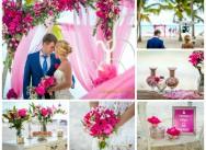 Яркая карибская свадьба Варвары и Евгения!