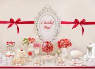 Десертный стол на свадьбе