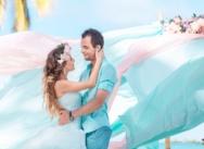 Свадьба в Доминикане на пляже Кап Каны {Виктор и Виктория}