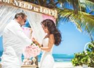 Свадьба в Доминикане в стиле «Романтичный рустик» {Александр и Кристина}