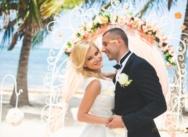 Свадьба в Доминикане на пляже Кариббеан {Павел и Юлия}