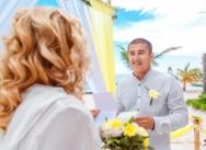 Руслан и Гульжиян — отчёт лимонной свадьбы в Доминикане на пляже Колибри