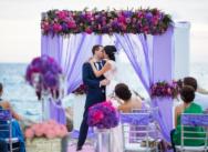Потрясающая по красоте свадьба на пирсе {Вадим и Елена}