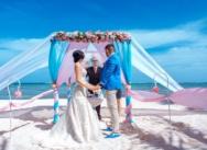 Официальная свадебная церемония в Доминикане {Сергей и Кристина}