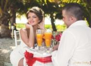 Свадебная церемония в цвете страсти {Виктория и Антон}