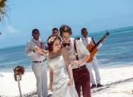 Юрий и Юлия — отчёт романтической свадьбы в цвете марсала