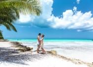 Свадьба на острове Саона в Доминиканской Республике {Роман и Елена}