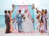 Нежная свадьба в Доминикане в Кап Кане {Рубен и Юлия}