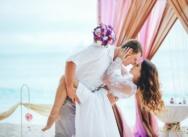 Свадьба в стиле Гэтсби на острове Саона {Максим и Екатерина}