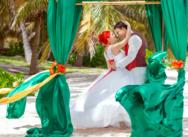Официальная свадьба в Доминикане на пляже Колибри {Дарья и Дмитрий}