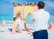 Свадьба на пляже Juanillo в Доминикане {Николай и Мария}