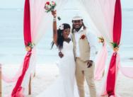 Символическая свадебная церемония в Доминикане {Ламар и Прешес}