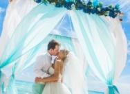 Свадьба в цвете Tiffany на острове Саона {Наталья и Вячеслав}
