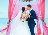 Официальная свадьба в Доминикане, на пляже Juanillo {Дэвид и Мартина}