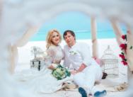 Свадьба на пляже Хуанийо в Доминикане {Алла и Артем}