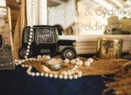 Свадьба в стиле Великий Гэтсби в пляжном ресторане {Сидни и Джереми}