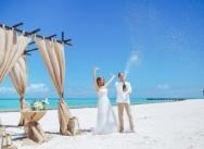 Официальная свадьба в Доминикане на пляже Хуанийо {Павел и Александра}