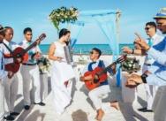 Свадьба на пляже Кап Каны