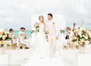 Свадьба в Доминикане на пляже Хуанийо и ужин в Ресторане Ла Палапа Еден Рок {Грант и Евгения}