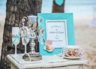 Свадьба в Доминикане на частном пляже Колибри {Юлия и Богдан}