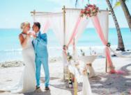 Свадьба на острове Саона в Доминиканской Республике {Инга и Алессио}