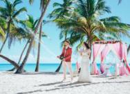 Свадьба в ягодных тонах на острове Саона {Юлия и Александр}